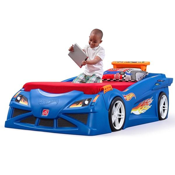Step2 Hot Wheels Race Car Bed Uk 854600