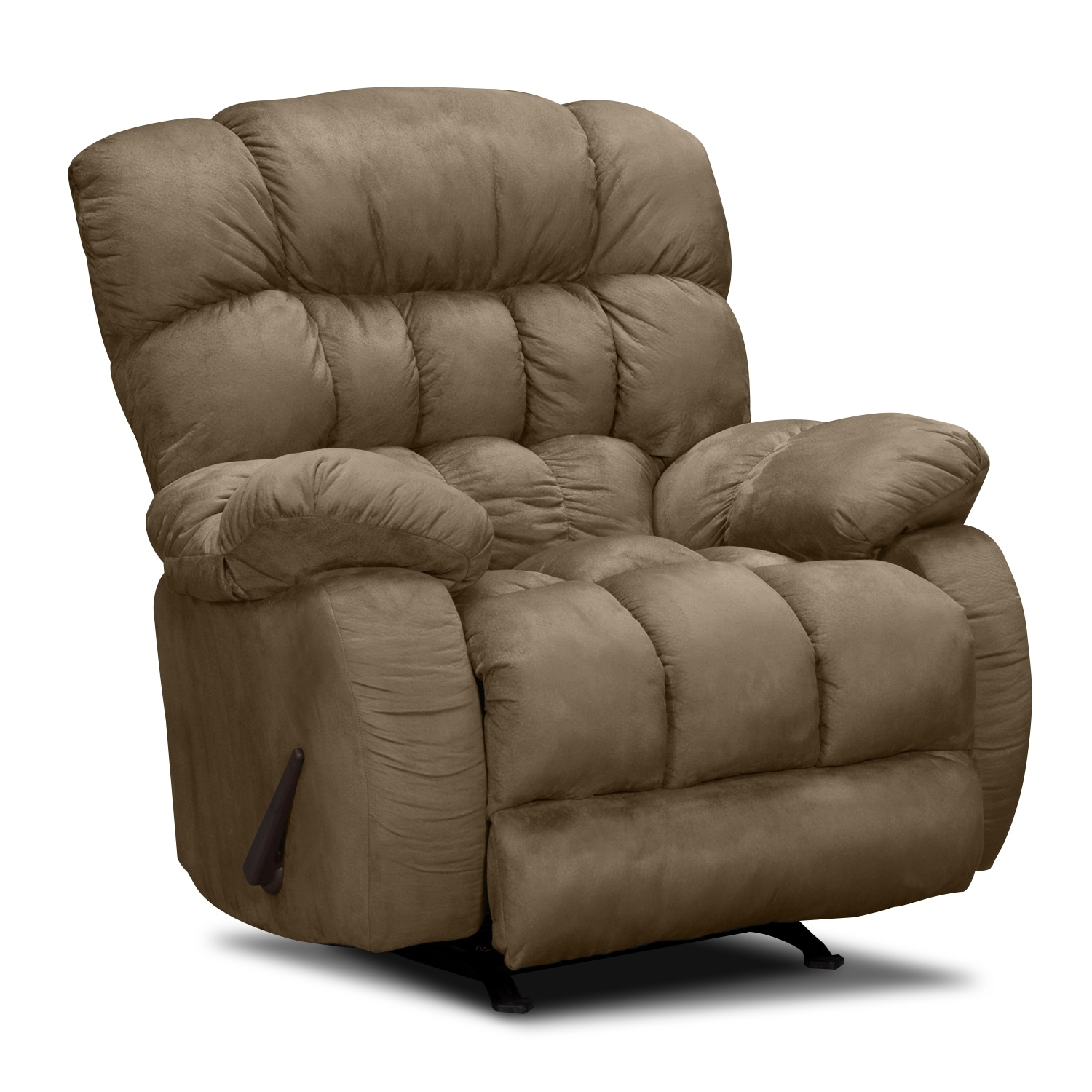 the comfortable chair store patio furniture cushions sonic rocker recliner taupe american signature