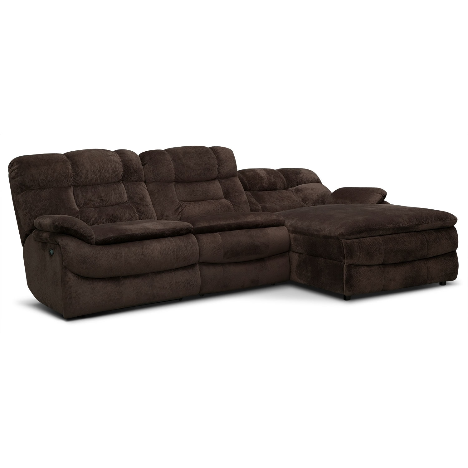 where to donate sectional sofa u aegte laeder big softie 3 piece power reclining with right