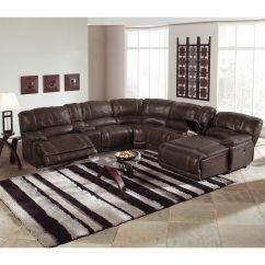 Back Of Sofa Facing Fireplace Beach Bag St Malo 6 Piece Power Reclining Sectional With Right