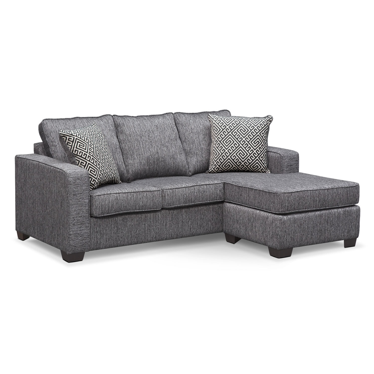 sterling sofa usado olx goiania innerspring sleeper with chaise charcoal