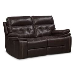 Marlow Reclining Sofa Loveseat And Chair Set Western Style Beds Brisco Power Glider