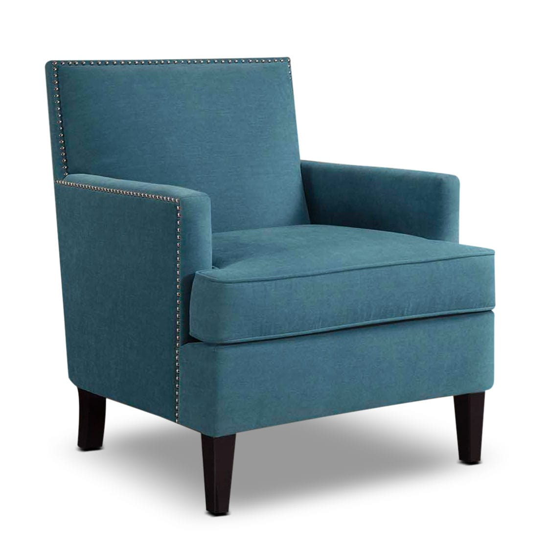 Blue Accent Chair With Arms Astrid Accent Chair Blue American Signature Furniture