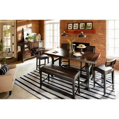 American Signature Living Room Sets Beautiful Idea Newcastle Counter Height Dining Table Mahogany
