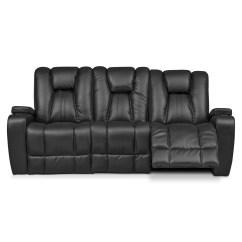 Sofa Tables For Living Room Floor Tiles Design Pulsar Dual Power Reclining - Black | American ...