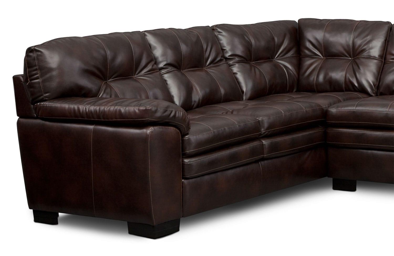 where to donate sectional sofa bolia modulsofa tilbud magnum 2 piece brown american signature
