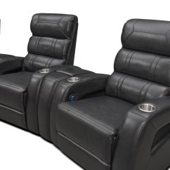 Home Theater Chair Repair Recliner Covers Ebay Bravo 7 Piece Power Reclining Sectional