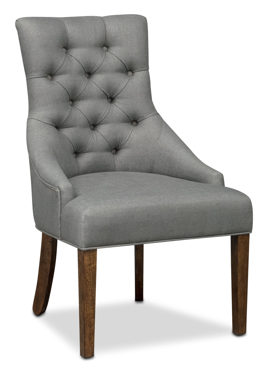 Grey Side Chair Melissa Side Chair Gray American Signature Furniture