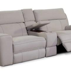 Best Power Reclining Sofa Set Sectional Modern Sofas Newport 3-piece With Console - Light ...