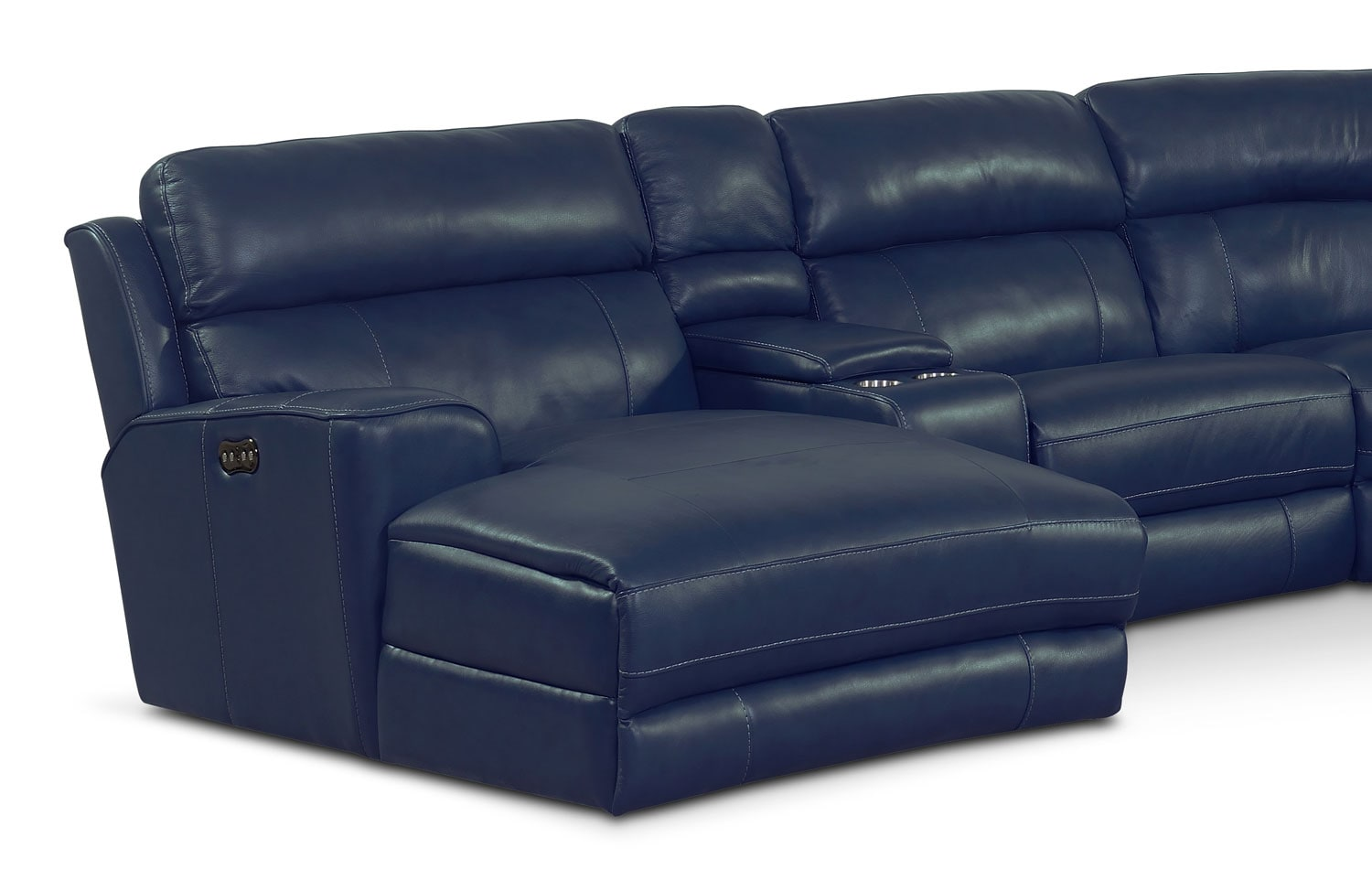 Newport 6Piece Power Reclining Sectional with LeftFacing