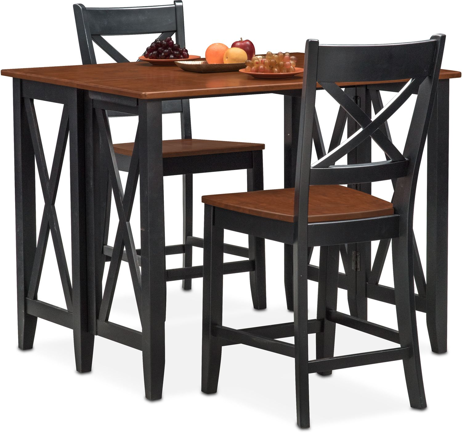 Bar Height Dining Chairs Nantucket Breakfast Bar And 2 Counter Height Side Chairs