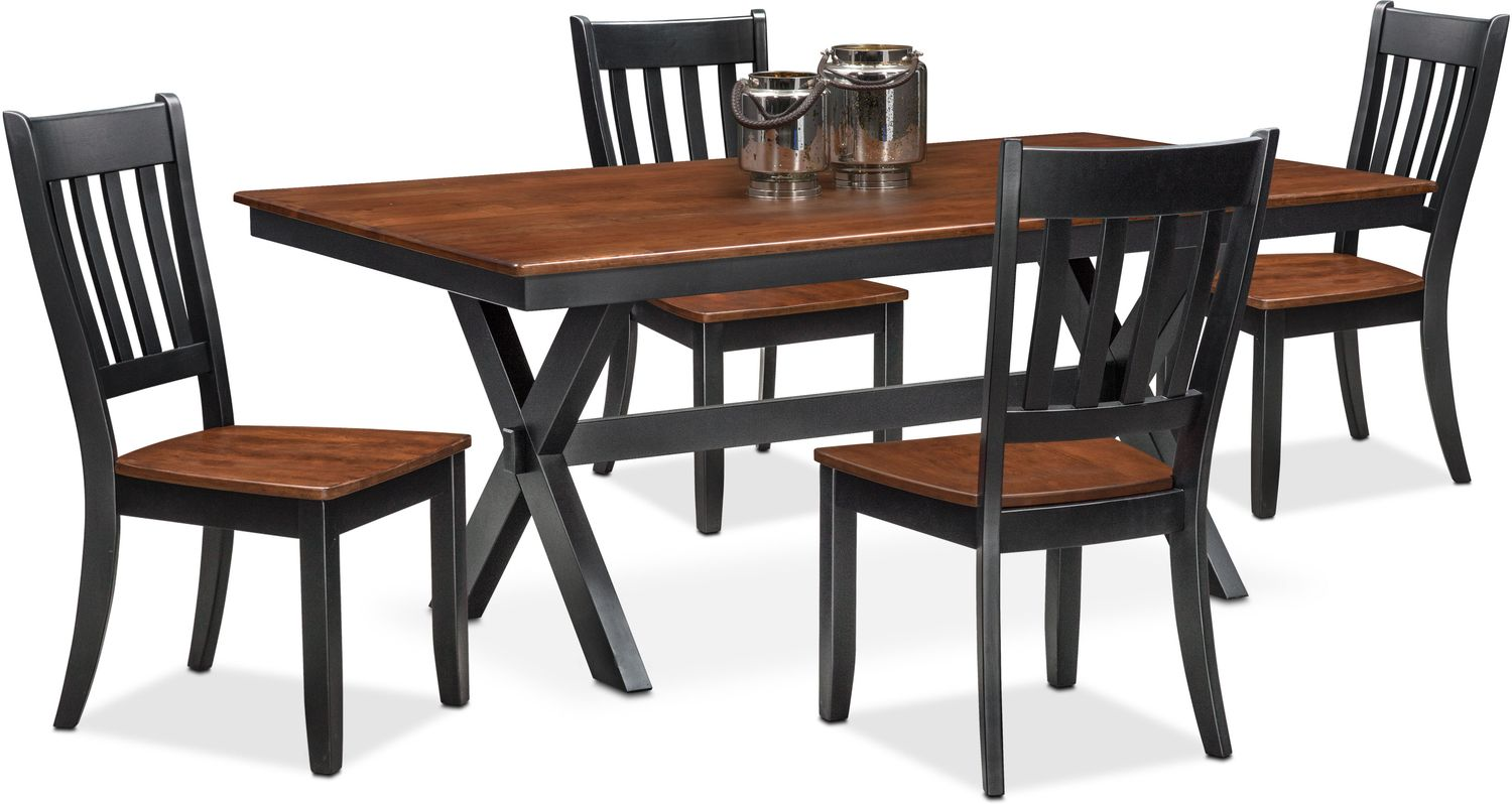 nantucket trestle table and