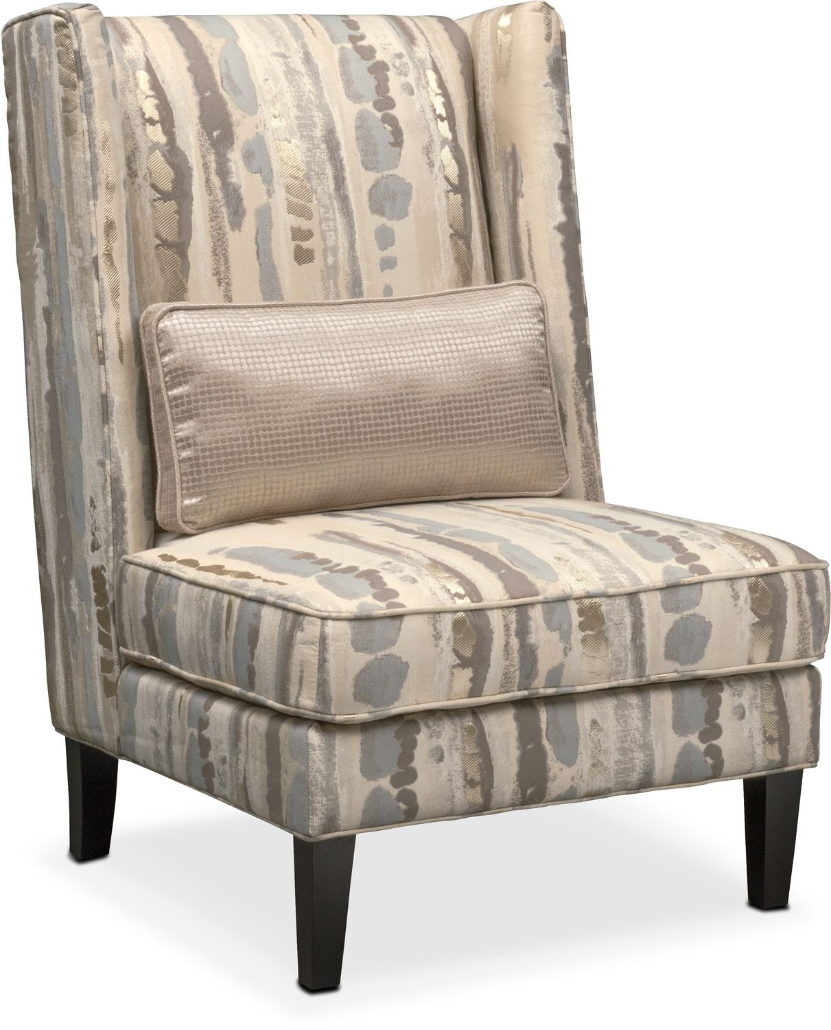 Light Gray Accent Chairs Torrance Accent Chair Light Gray American Signature