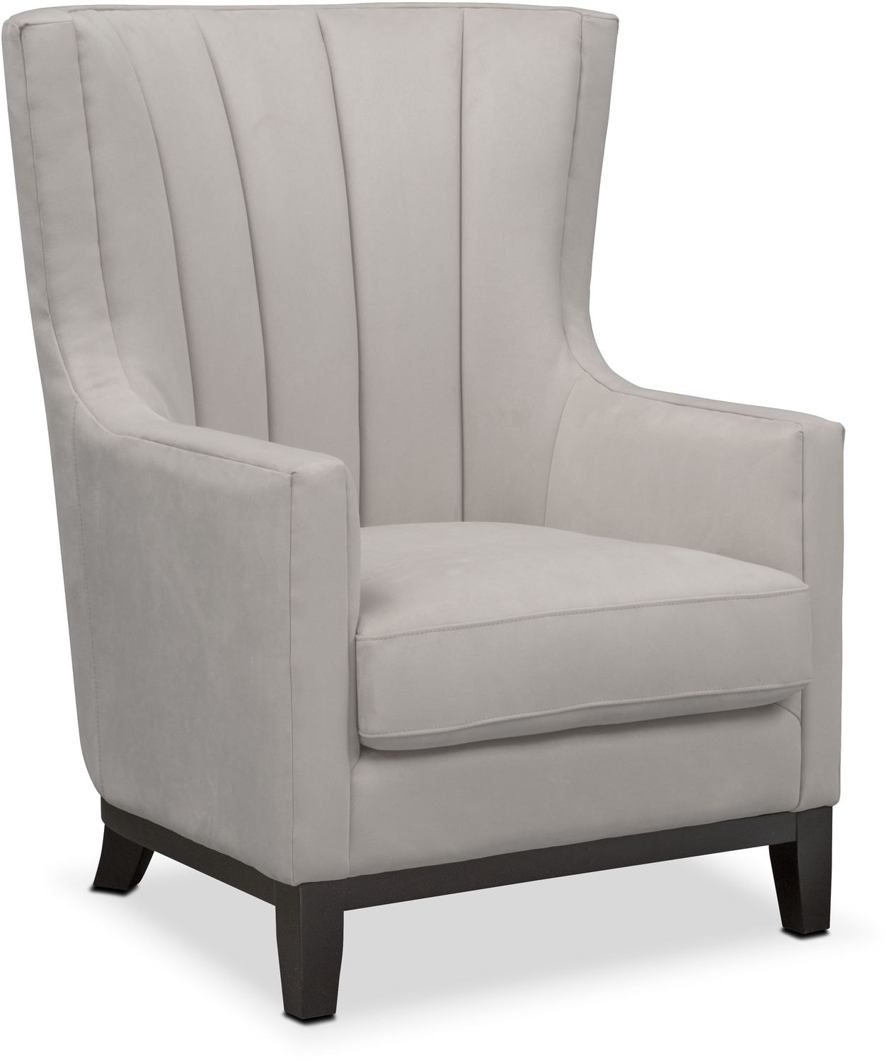 Light Gray Accent Chairs Brianna Accent Chair Light Gray American Signature