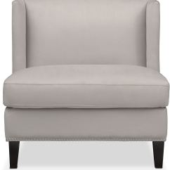 Light Gray Accent Chairs Makeup Table Chair Torrance American Signature