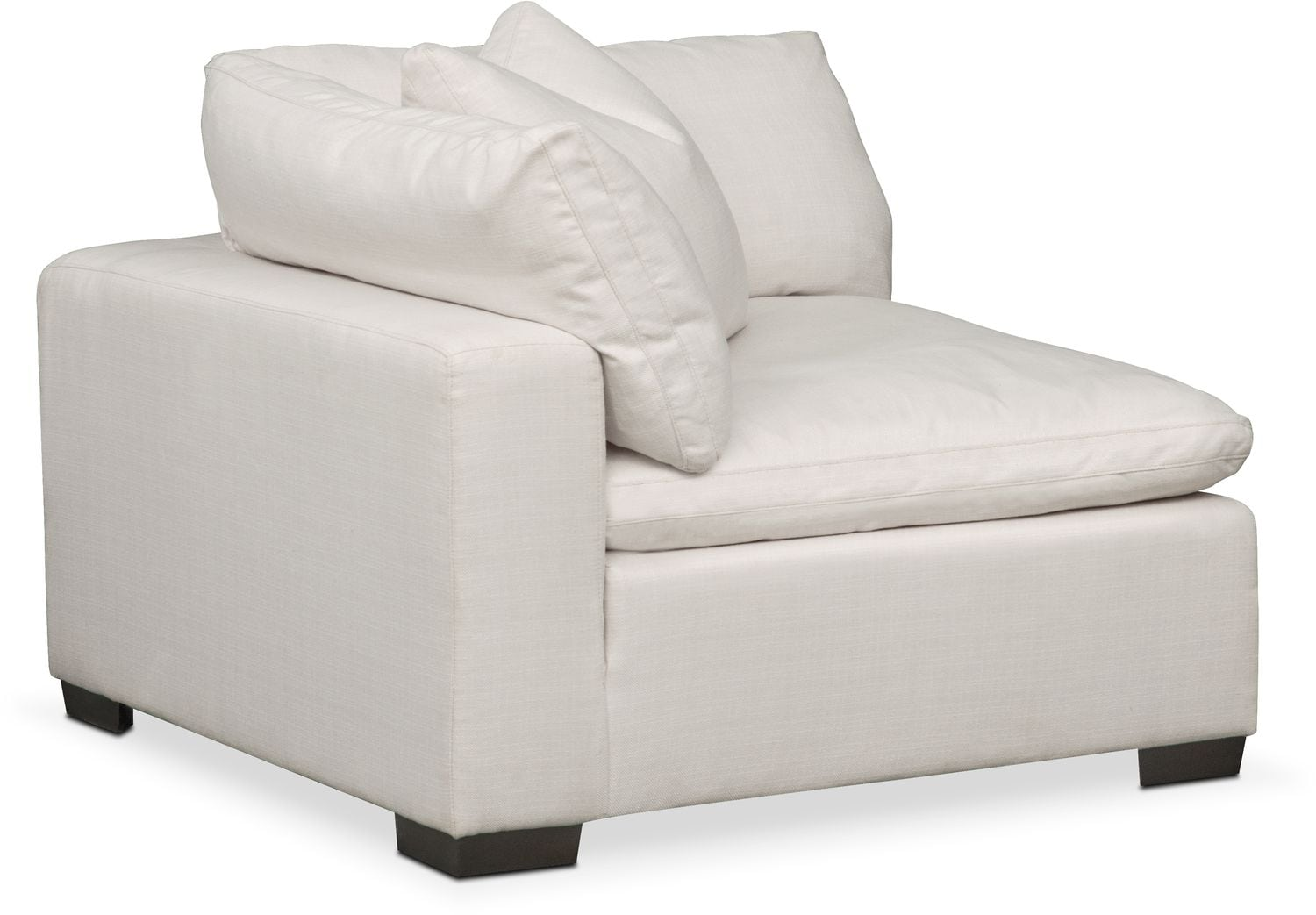 plush magnum sofa review leather repair dallas tx 4 piece sectional and ottoman anders ivory