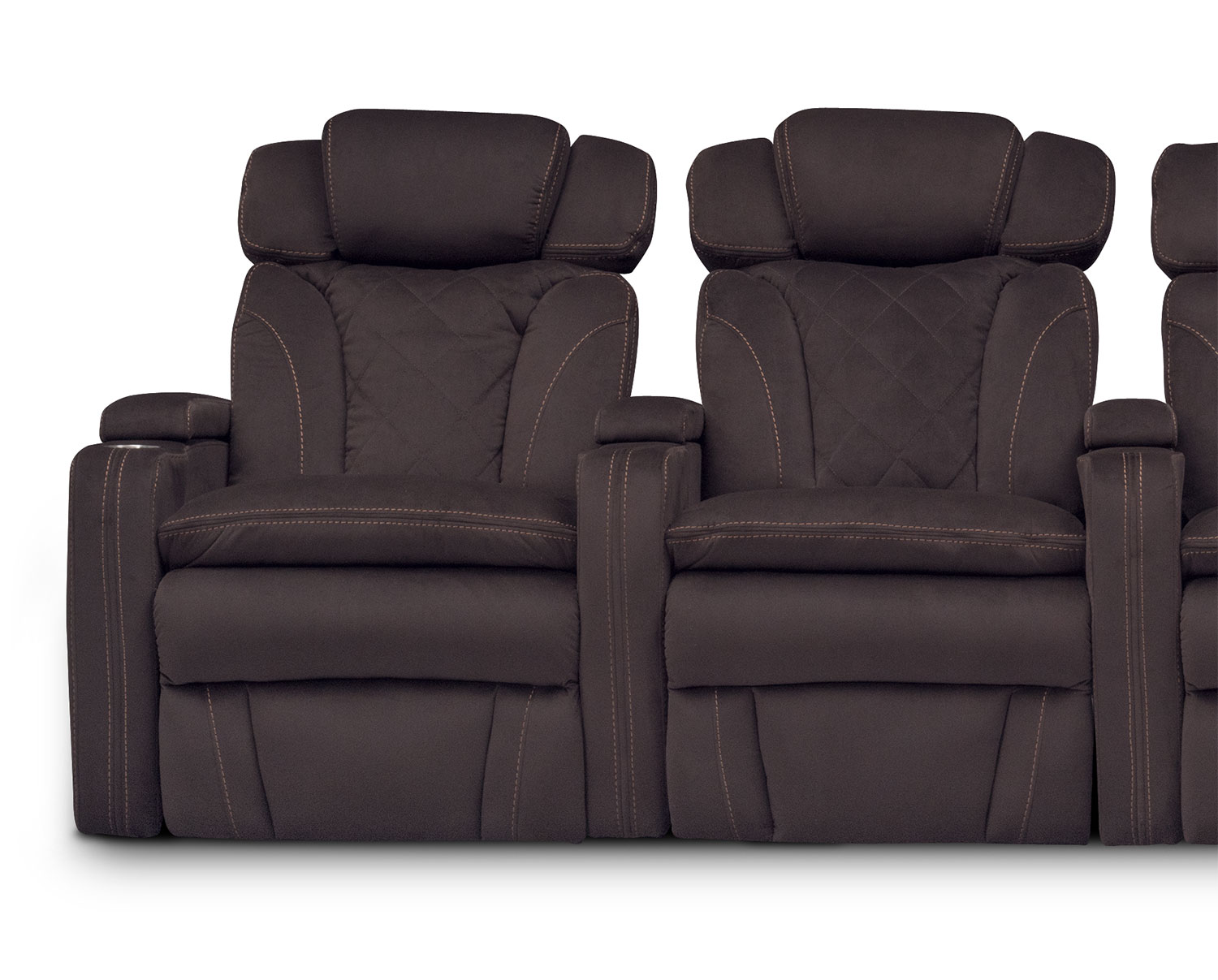 home theater chair repair collins barber fiero 4 piece power reclining sectional