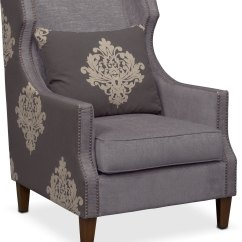 Accent Chair Gray Wedding Covers Grimsby Dynasty American Signature Furniture