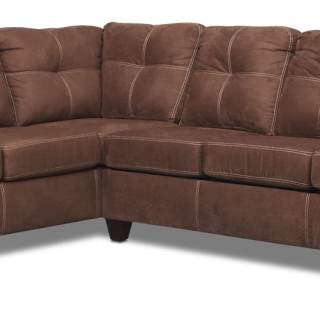 The Ricardo Sectional Collection Coffee