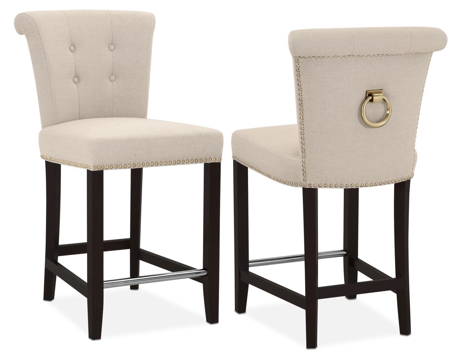 counter height chair grey table and chairs calloway stool natural gold american signature click to change image