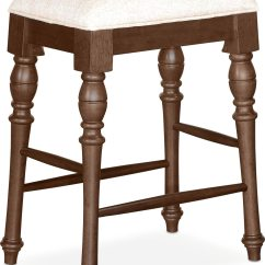 Backless Chair Height Stool Swing In Nepal Charleston Counter Tobacco