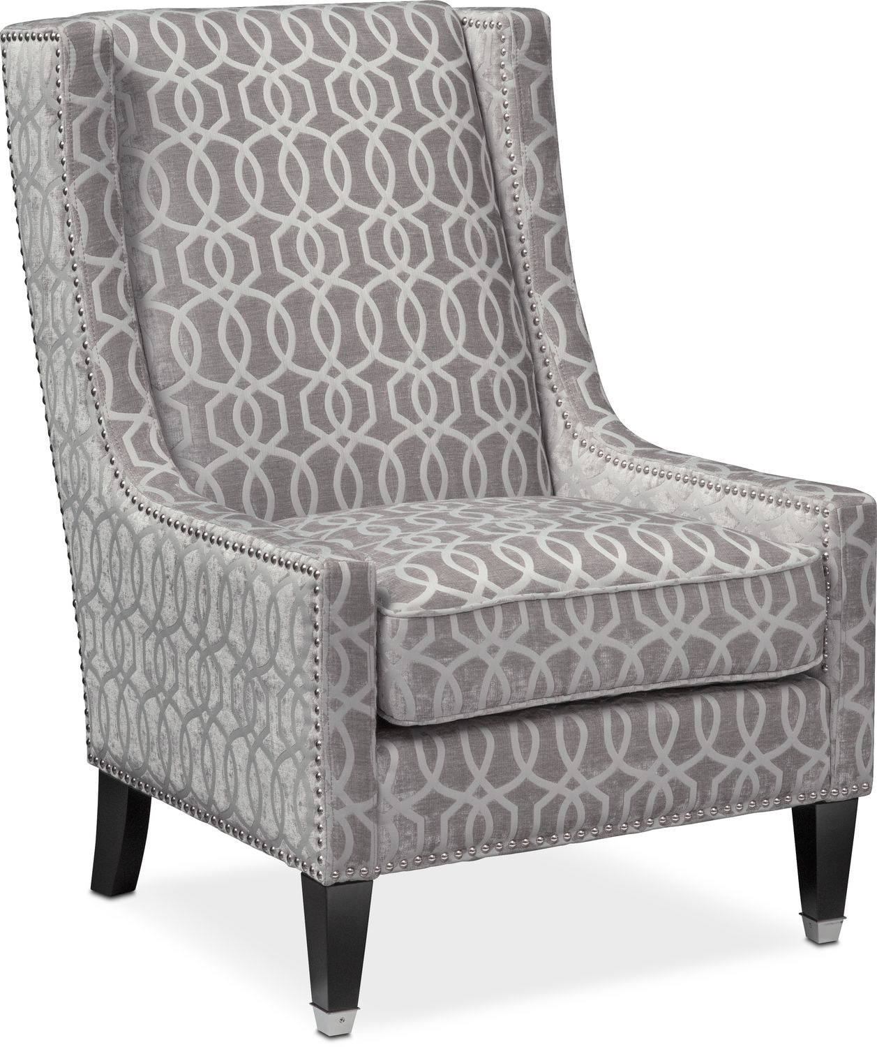 Rocking Accent Chairs Venn Accent Chair Gray