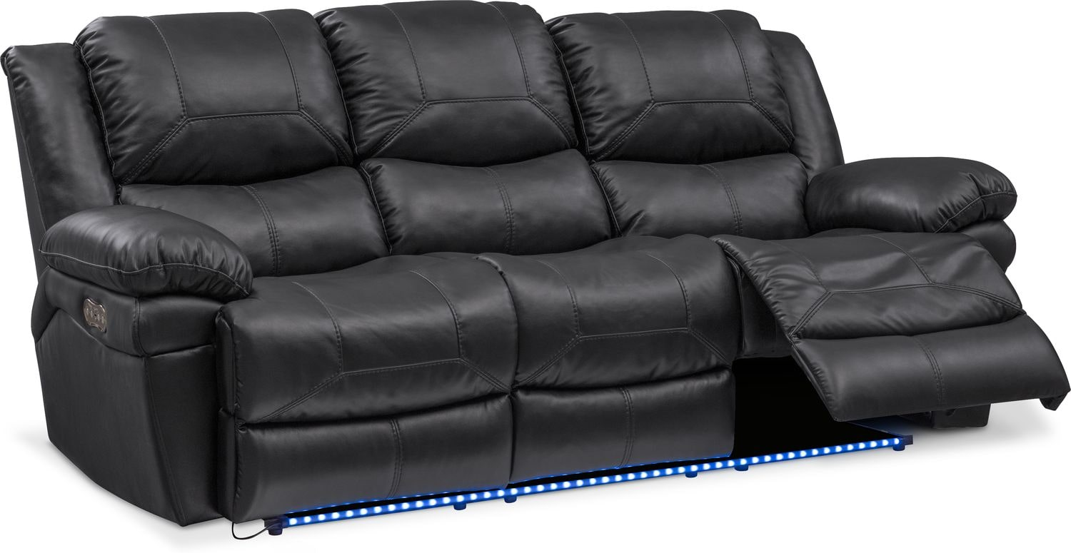 broyhill sofa nebraska furniture mart cushions for rattan and chairs monza leather review home co