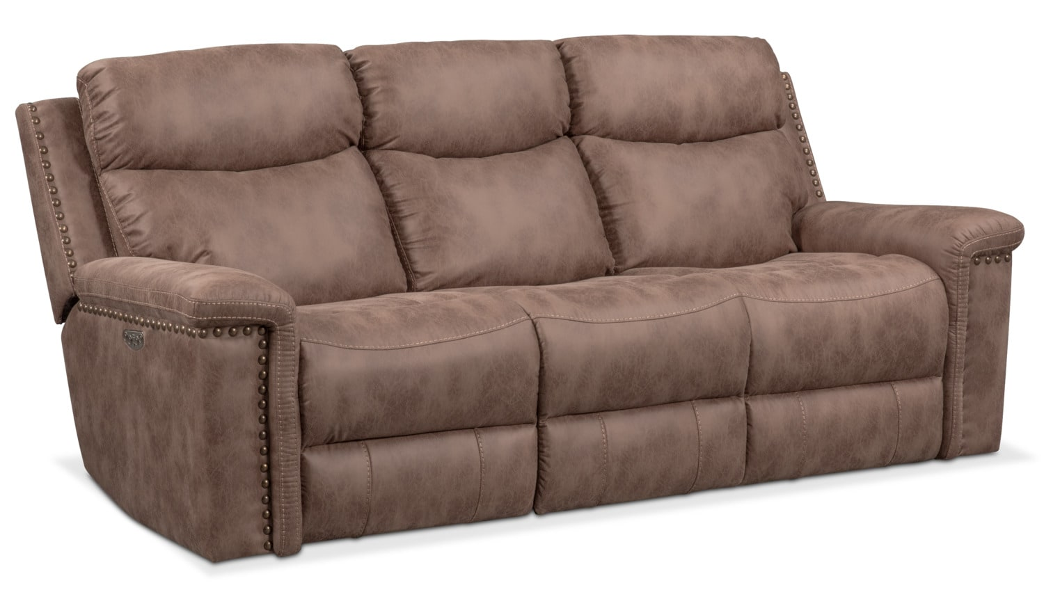 gladiator power dual reclining sofa reviews small size bed montana american signature furniture