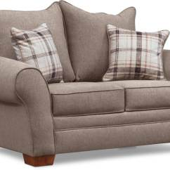 Loveseat And Chair A Half Pillow For Bed Rowan Sofa Set Gray