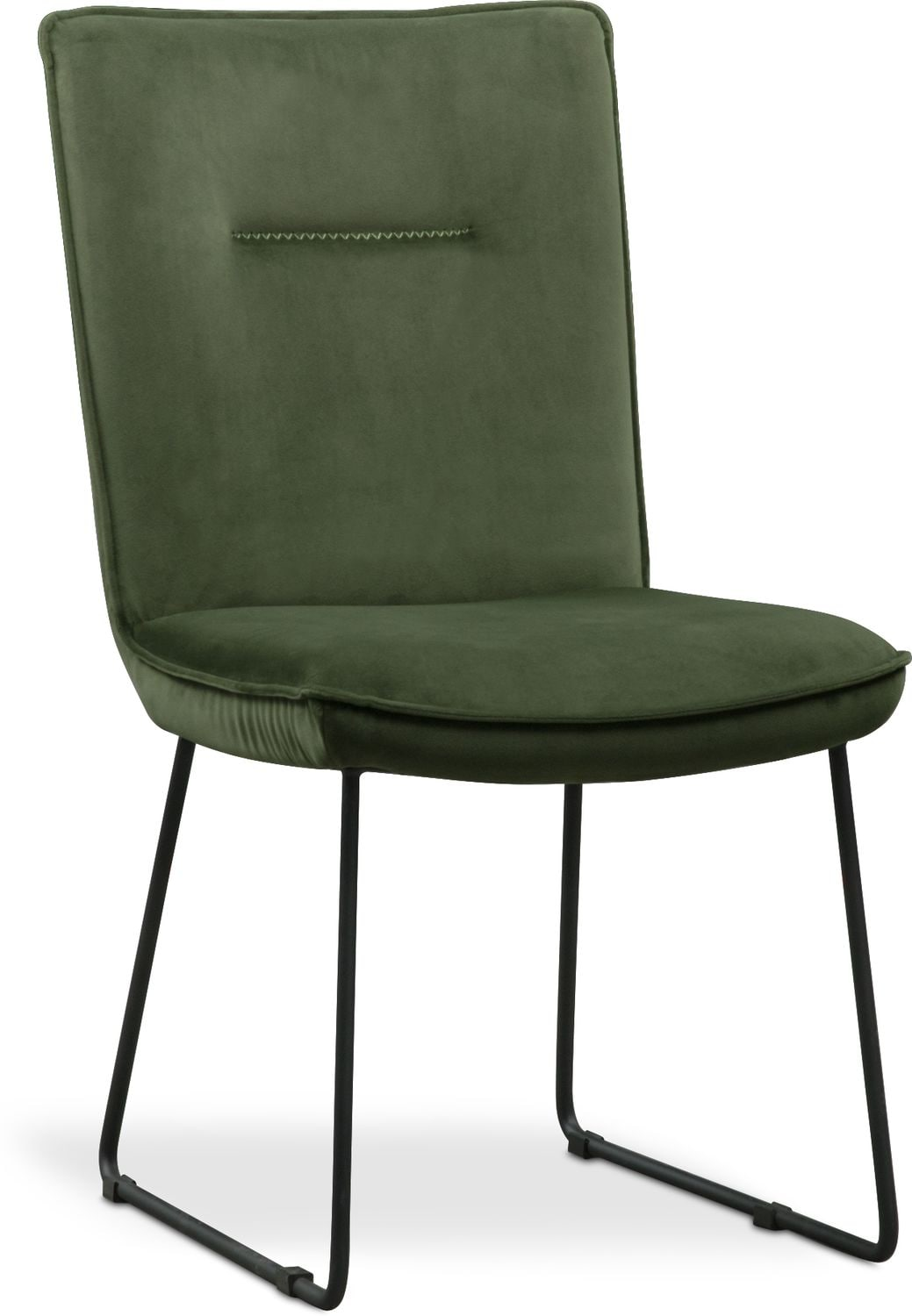 Green Upholstered Chair Portland Upholstered Side Chair Hunter Green