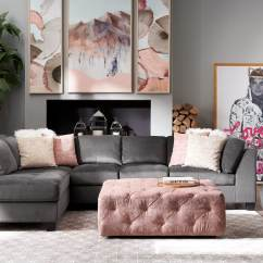 Jive Chenille Living Room Furniture Collection Interior Decorating Ideas Large Rooms Ottomans Value City Tap To Change Mackenzie Ottoman