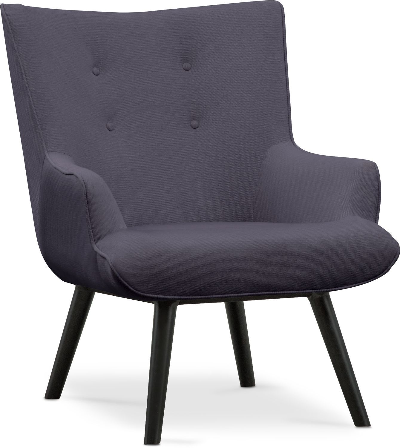 Purple Accent Chair West End Accent Chair