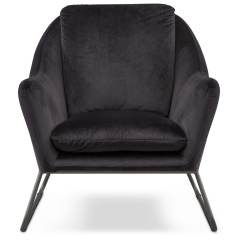 Black Velvet Chair Eames Lounge Cad Block Willow Accent American Signature Furniture Click To Change Image