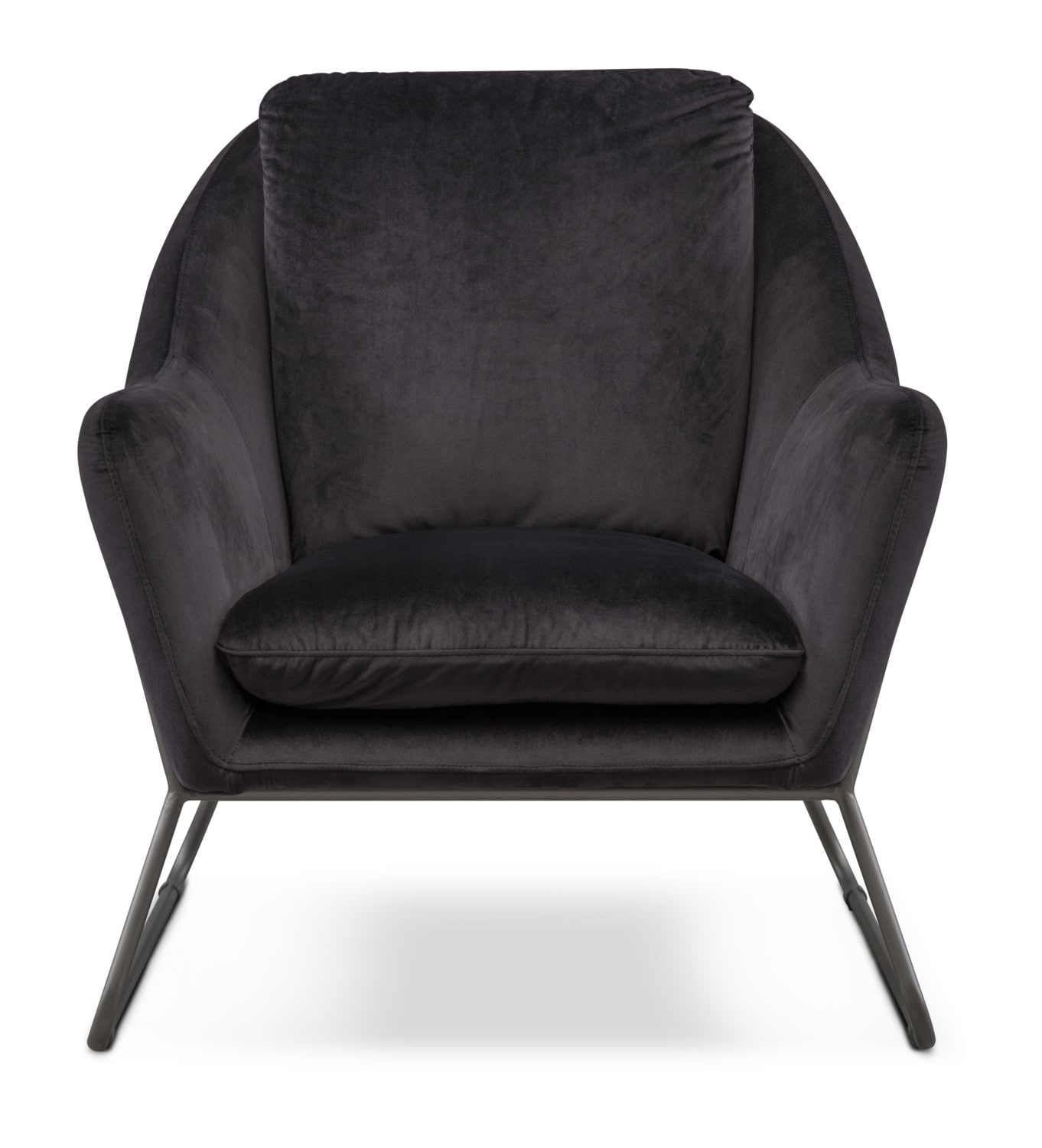 Black Accent Chairs Willow Accent Chair Black