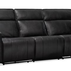 Triple Reclining Sofa How To Repair Rip Leather Bradley Power And Loveseat Set