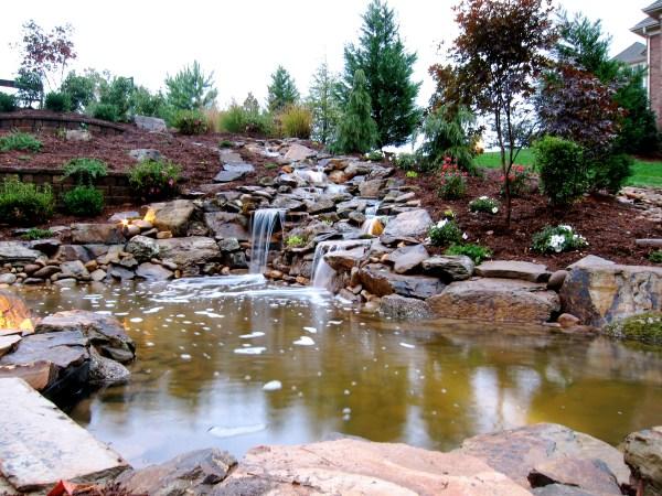 natural streams landscaping