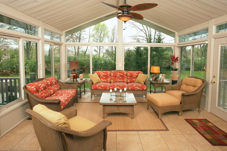 Champion Windows Sun Rooms  Home Exteriors  Indianapolis