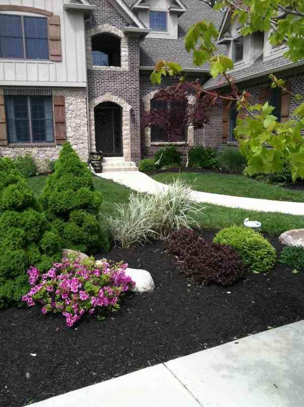 precision landscaping llc brownsburg