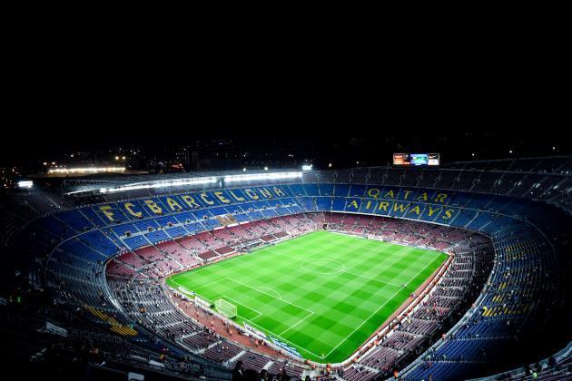 أفضل 10 ملاعب لكرة القدم على مستوى العالم