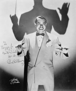 cab calloway with conductor's wand 1930s 1940s singer