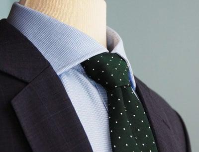 Blue Blazer Green Tie