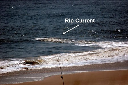 rip current riptide photo example beach