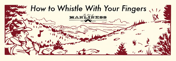 how to wolf whistle diagram wiring qsm11 with your fingers the art of manliness man park ranger in woods whistling illustration
