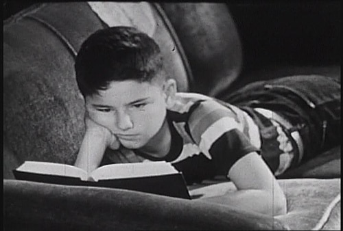 Image result for boy reading dickens