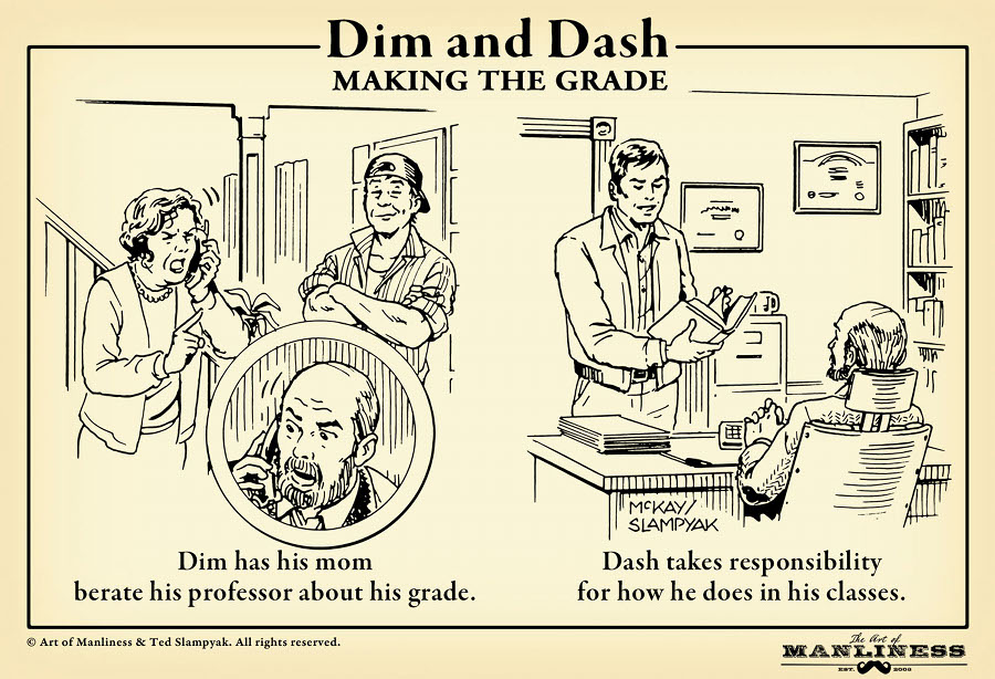 Dim & Dash Making The Grade The Art Of Manliness