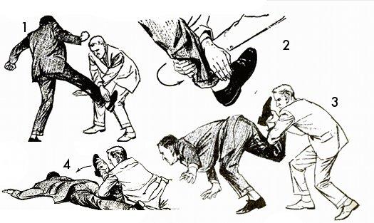 Дон Дрейпер Дзюдо для самозащиты.1962 г.. Обсуждение на