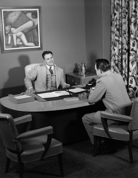 How To Take Charge In A Job Interview The Art Of Manliness