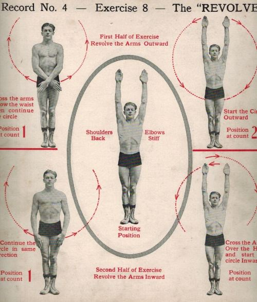 small resolution of for the first part of the exercise cross your arms below the waist then raise them above the head in a circular motion with the arms revolving to face