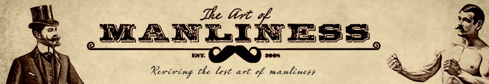 Banner for The Art of Manliness website