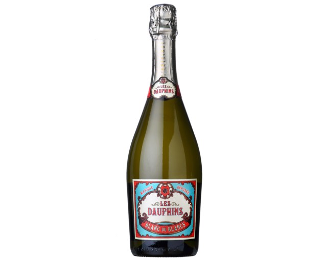 Les Dauphins Sparkling Blanc de Blancs, France, available from Waitrose